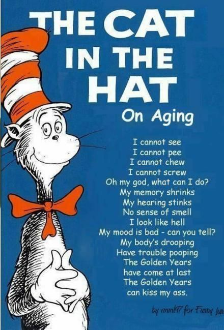 The Cat In The Hat; On Aging